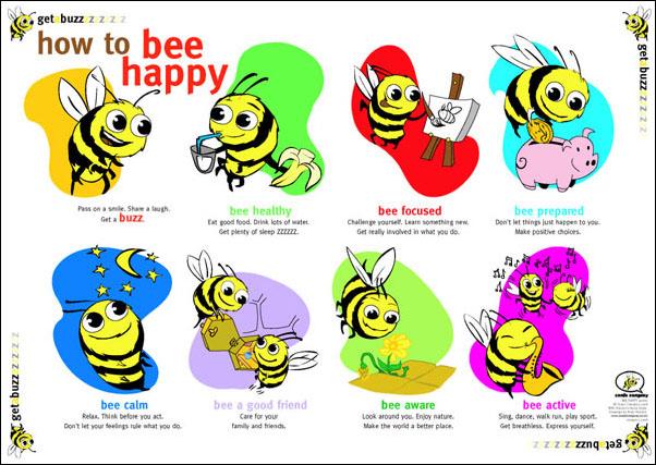 bee happy quotes