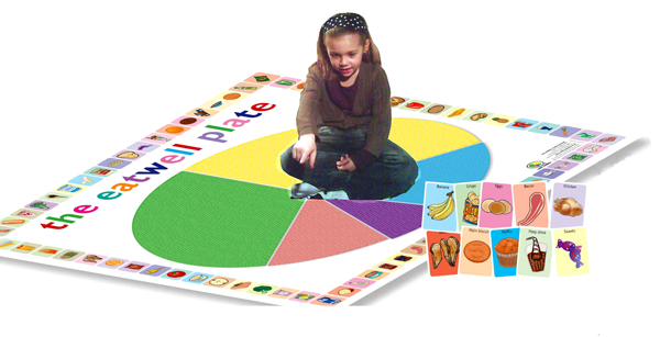 Comis Vinyl Flooring Safe : Eatwell Good Grub Game Set Match Games This Is An Eatwell Plate ...