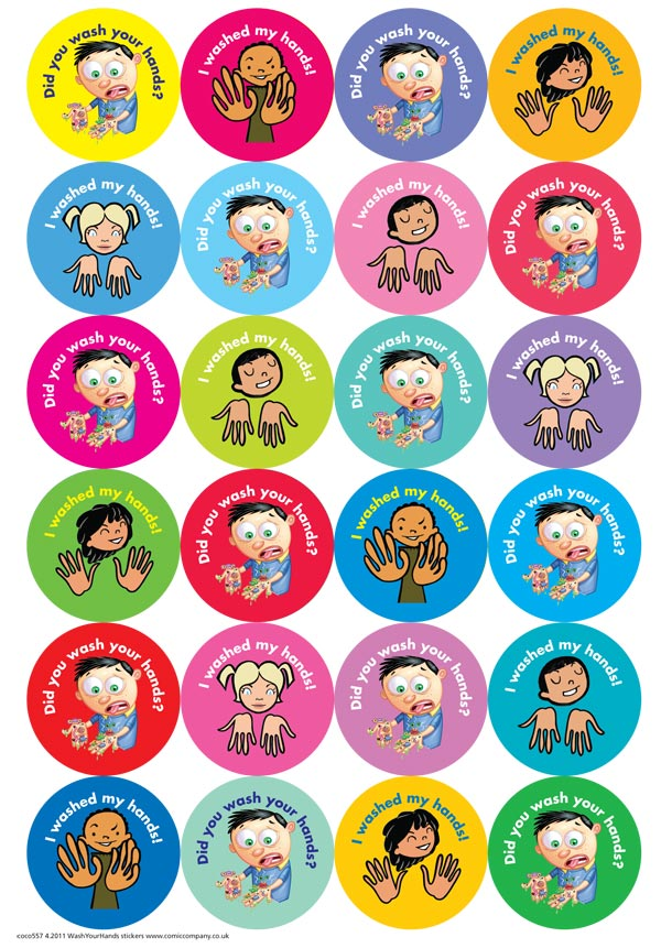 DID YOU WASH YOUR HANDS STICKERS - stickers