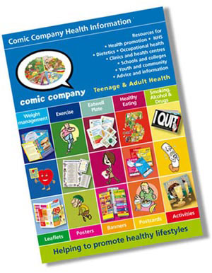 Comic Company's children and young people's catalogue 2011