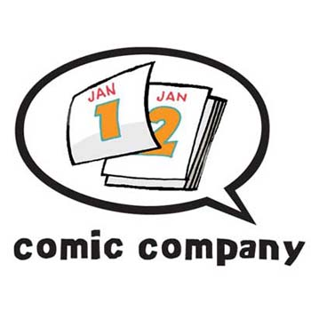 Comic Company dates logo