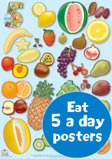 Eat 5 a day Posters